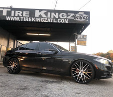 "BMW on 22"" Spec-1 wheels"