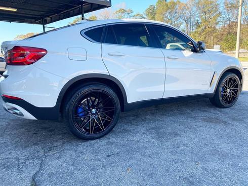 "BMW X6 on 22"" AXE Wheels"