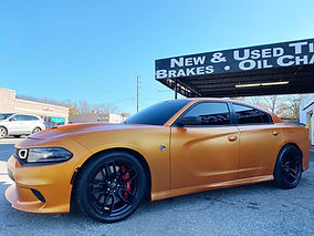 Dodge Charger on 20_ Hellcat Replica whe