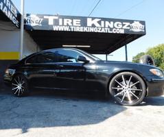 """BMW on 22"""" Elegante wheels"""