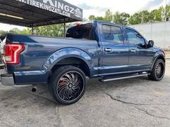 "Ford F-150 on 24"" Gima wheels"
