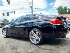 "BMW on 20"" AXE wheels"