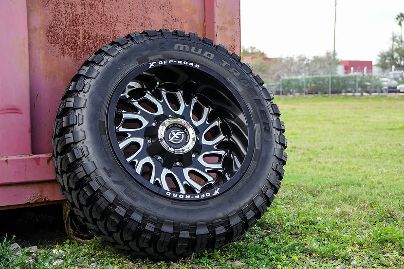 XF Off-Road Mud Tracker Tire Banner