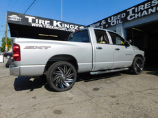 Dodge Ram on Azara wheels