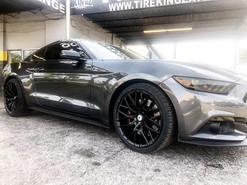 "Ford Mustang on 20"" Asanti wheels"