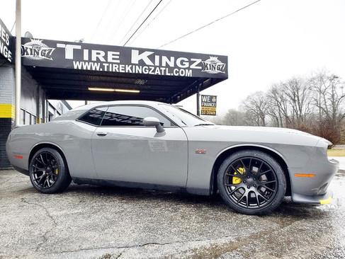 "Dodge Challenger on 20"" Replica wheels"