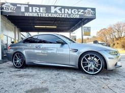 """BMW M3 on 20"""" Niche wheels"""