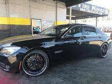BMW on BBY wheels