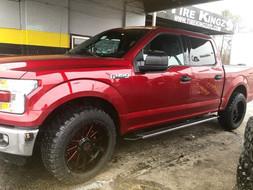 """Ford F-150 on 20"""" Xtreme Mudder wheels"""