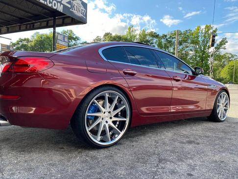 """BMW on 22"""" Azad wheels"""