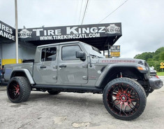 "Jeep Gladiator on 24"" XF Off-Road wheels"