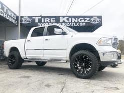 Dodge Ram on 22_ XF Off-Road wheels