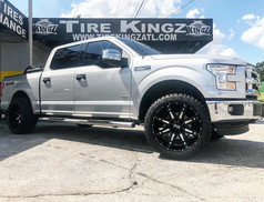 """Ford F-150 on 22"""" Twisted Off Road wheel"""