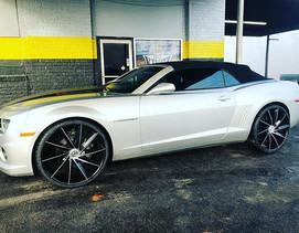 Chevrolet Camaro on AZARA wheels