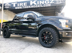 "Ford F-150 on 20"" BBY wheels"