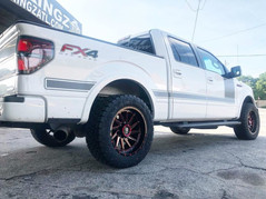 """Ford F-150 on 20"""" XF Off-Road wheels"""