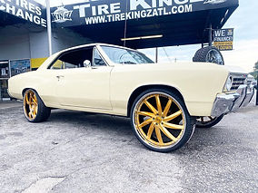 "Chevelle on 24"" Rucci Spada Wheels"