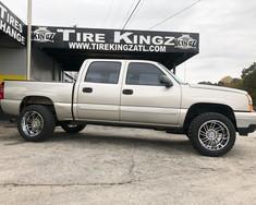 """Chevrolet Silverado on 20"""" Hostile wheel"""