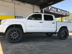 Toyota Tacoma on XF Off-Road wheels