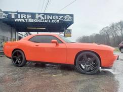 "Dodge Challenger on 22"" DUB wheels"