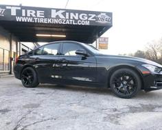 "BMW on 18"" STR racing wheels"