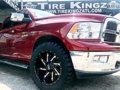 Dodge Ram on 24_ Twisted wheels