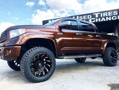 "Toyota Tundra on 22"" XF Off-Road wheels"