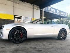 "Chevrolet Camaro on 24"" Spec-1 wheels"