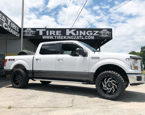 """Ford F-150 on 20"""" Twisted wheels"""