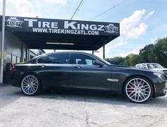 "BMW 750 on 22"" Spec-1 wheels"
