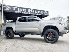 "Toyota Tacoma on 20"" BBY Off Road wheels"