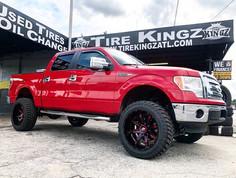"""Ford F-150 on 22"""" XF Off-Road wheels"""