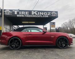 "Ford Mustang on 22"" Versante wheels"