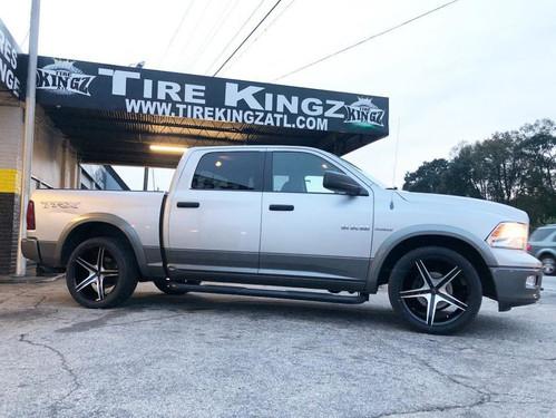 Dodge Ram on 22_ Cavallo wheels