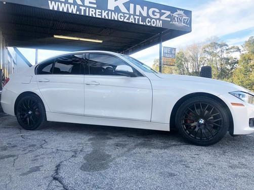 """BMW 328i on 18"""" Verde wheels"""