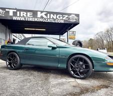 "Chevrolet Camaro on 20"" Replica wheels"