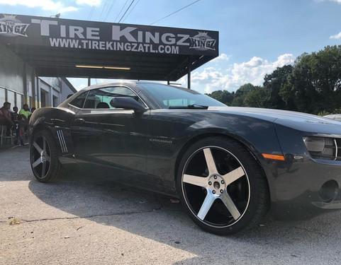 """Chevrolet Camaro on 22"""" K9 wheels"""