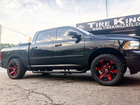 Dodge Ram on 20_ XF Off-Road wheels