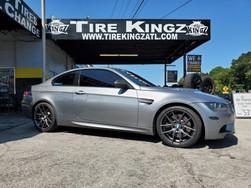 """BMW M3 on 19"""" Niche wheels"""
