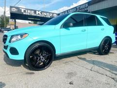 """Mercedes-Benz on 24"""" Lexani wheels"""