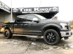 """Ford F-150 on 26"""" XF Off-Road wheels"""