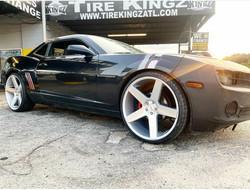 "Chevrolet Camaro on 24"" Azad wheels"