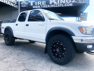 """Toyota Tacoma on 17"""" BBY wheels"""