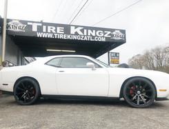 "Dodge Challenger on 22"" Spec-1 wheels"