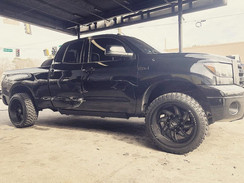 "Toyota Tundra on 20"" XF Off-Road wheels"
