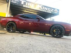 """Dodge Challenger on 22"""" Hellcat Replica"""
