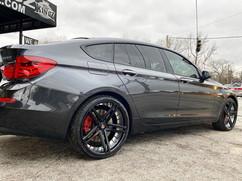 "BMW 535 GT on 22"" AXE wheels"