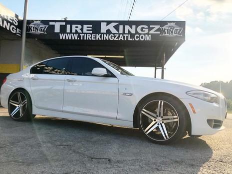 "BMW on 20"" Verde wheels"