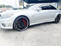 """Mercedes-Benz on 22"""" Azad wheels"""
