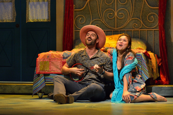 With Ma-Anne Dionisio. Mamma Mia Rainbow Stage, Winnipeg